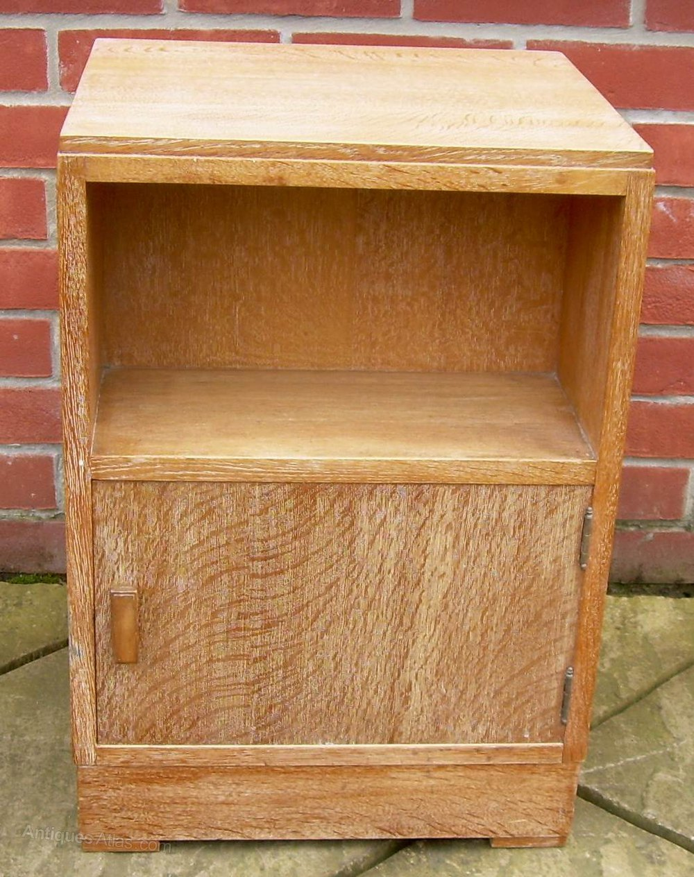 Limed Oak Bedroom Furniture A Heals Limed Oak Bedside Cabinet Antiques Atlas