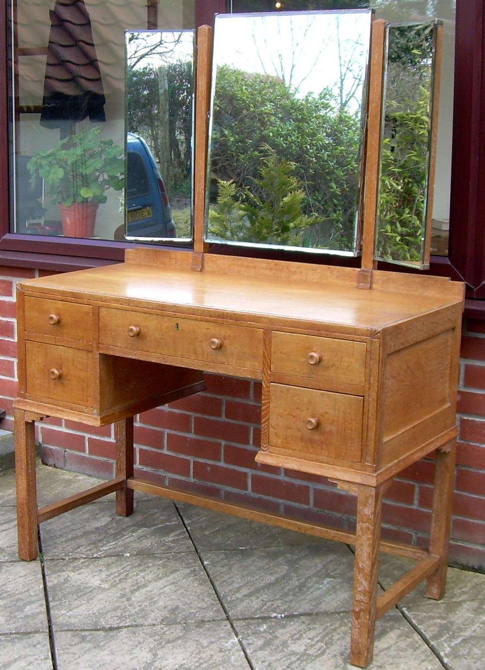A Heal S Limed Oak Dressing Table Antiques Atlas