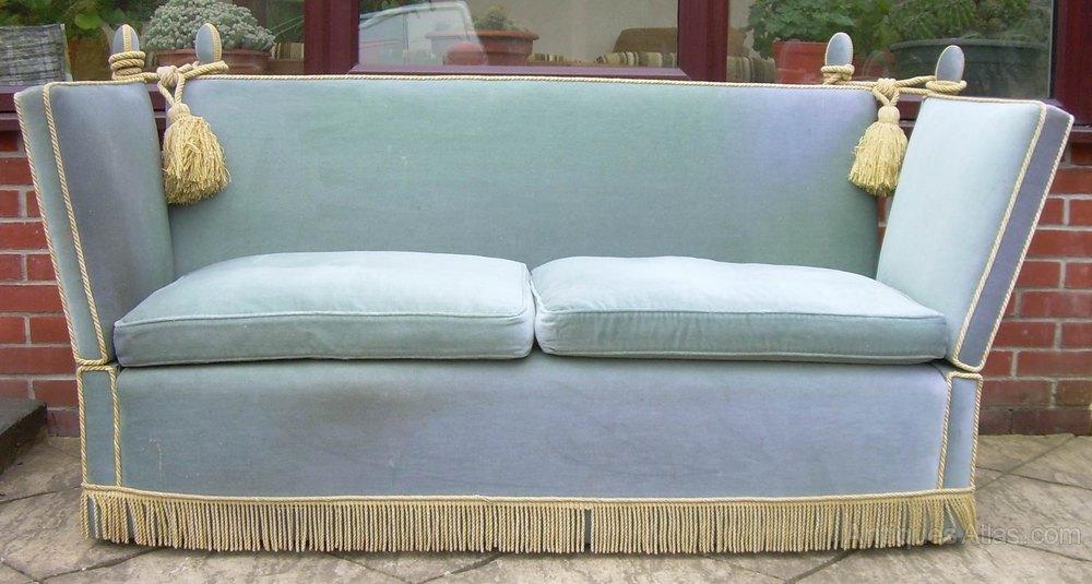 Charmant A Knoll Settee Or Sofa Vintage ...