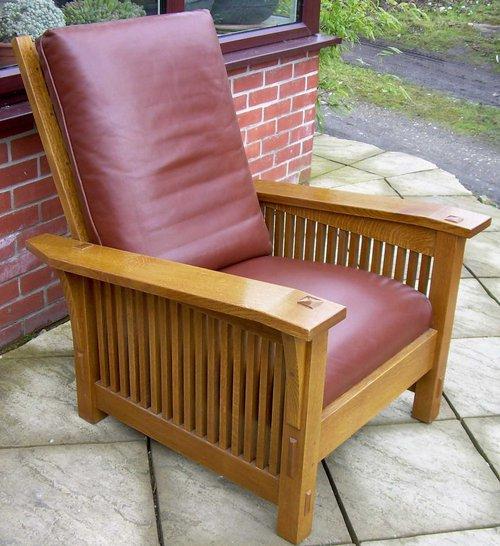Awe Inspiring Antiques Atlas A Stickley Reclining Chair Machost Co Dining Chair Design Ideas Machostcouk