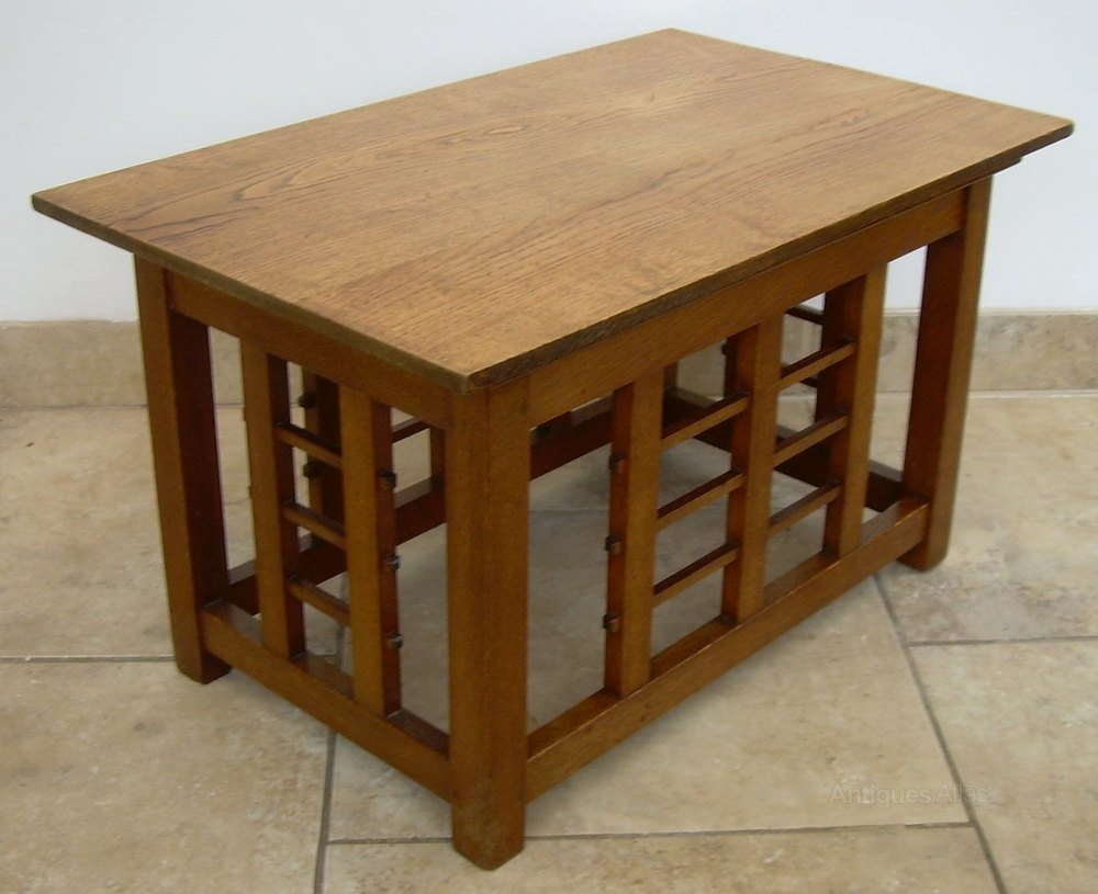 A Decorative Arts And Crafts Coffee Table Antiques Atlas