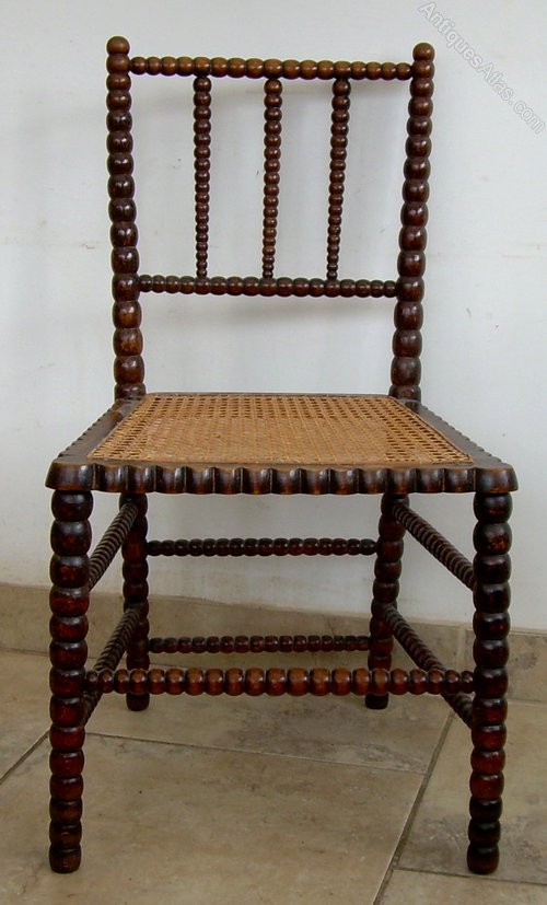 A Late Victorian Bobbin Chair Antiques Atlas