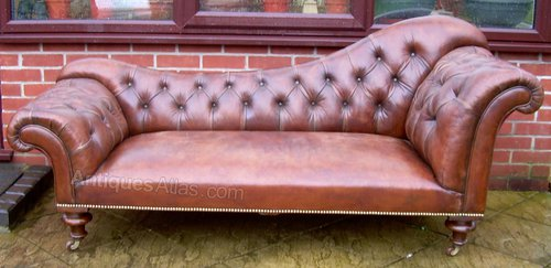 A Late Victorian Chaise Longue - Antiques Atlas Chaise Longue Canada on chaise furniture, chaise sofa sleeper, chaise recliner chair,