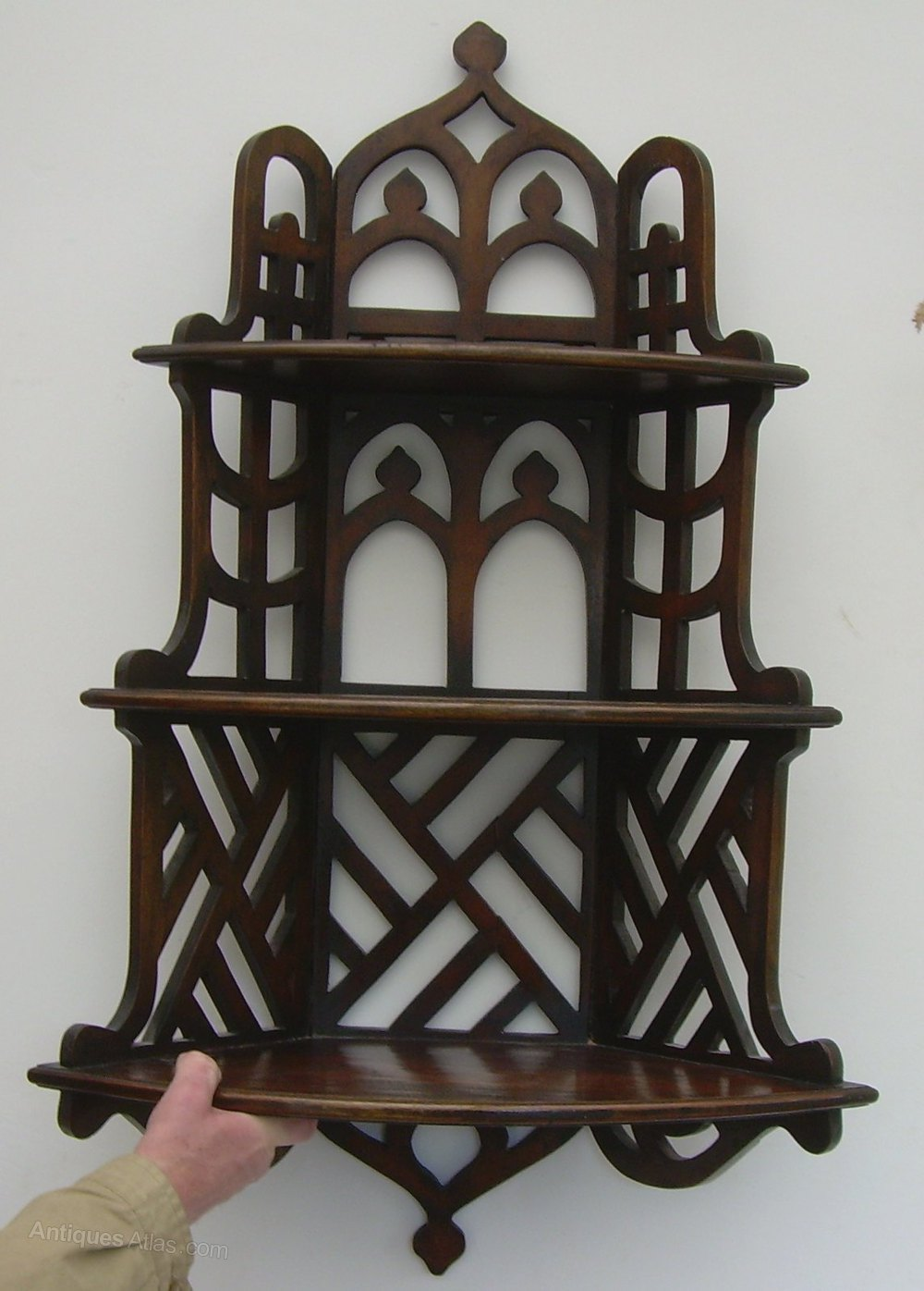 A Mahogany Victorian Wall Shelf Antiques Atlas