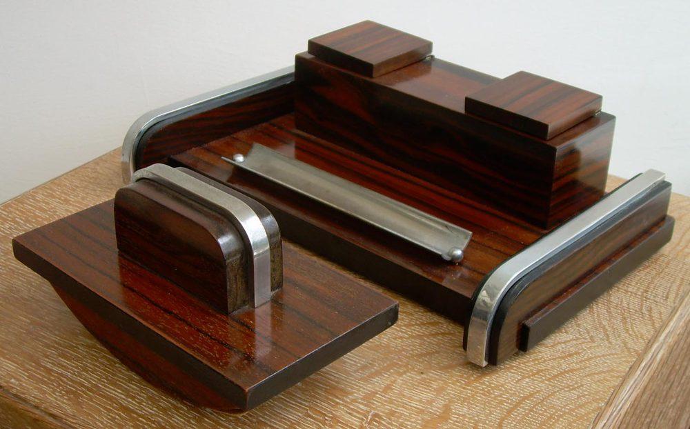 Art Deco Desk Set Inkstand Alt5