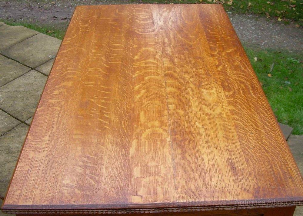 Desk Quarter Sawn Oak