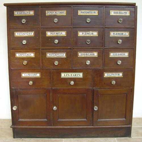 - Apothecary Cabinet - Antiques Atlas