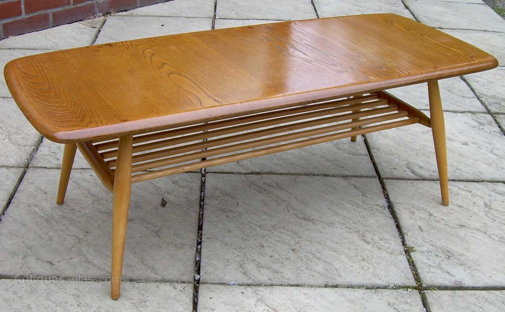 Antiques Atlas Ercol Golden Dawn Coffee Table