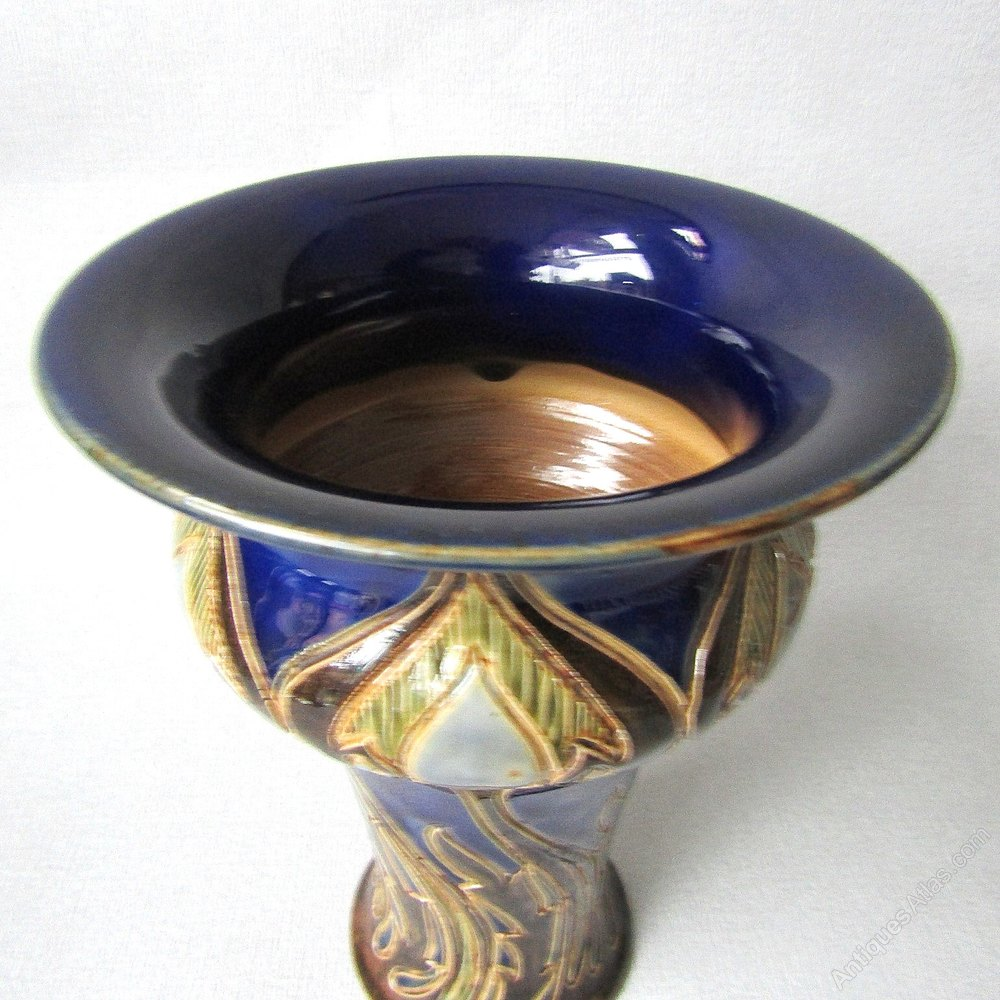 Consumer Contracts Regulations >> Antiques Atlas - Doulton Lambeth Ware Vase By Francis Pope