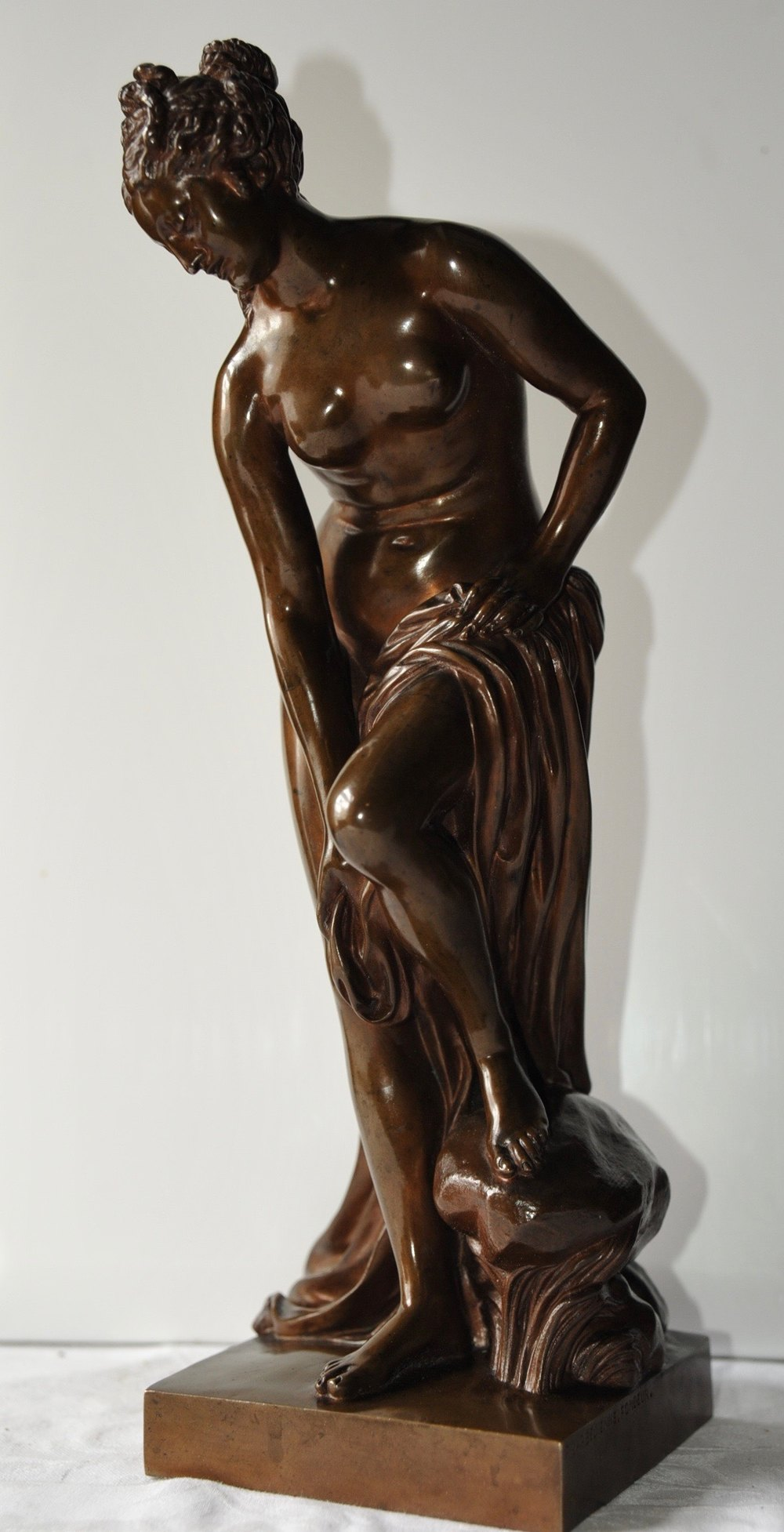 Antiques Atlas French Bronze By Allegrain Cast By
