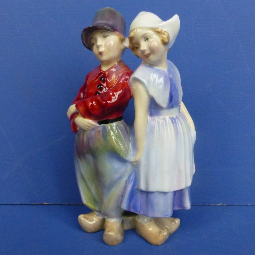 Royal Doulton Figurine - Willy-Won't He HN2150
