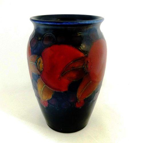 Antiques Atlas William Moorcroft Pomegranate Vase C1918 1929