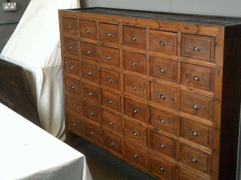 Apothecary Bank Of Drawers Cabinet Antiques Atlas