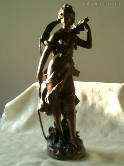 Antiques Atlas Auguste Moreau Sculpture