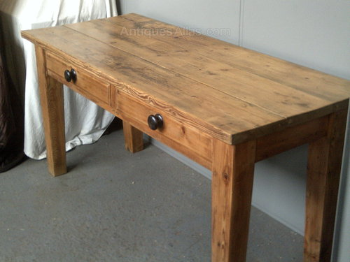 antique pine farmhouse kitchen table antiques atlas - Antique Farmhouse Kitchen Tables