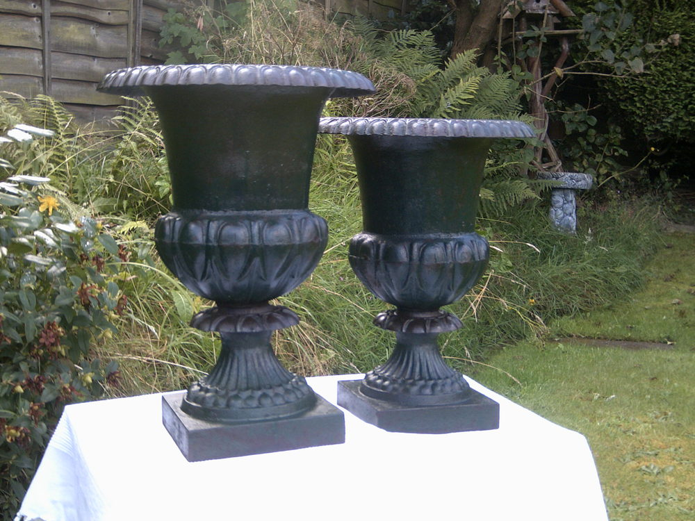 Antiques Atlas Antique Garden Urns