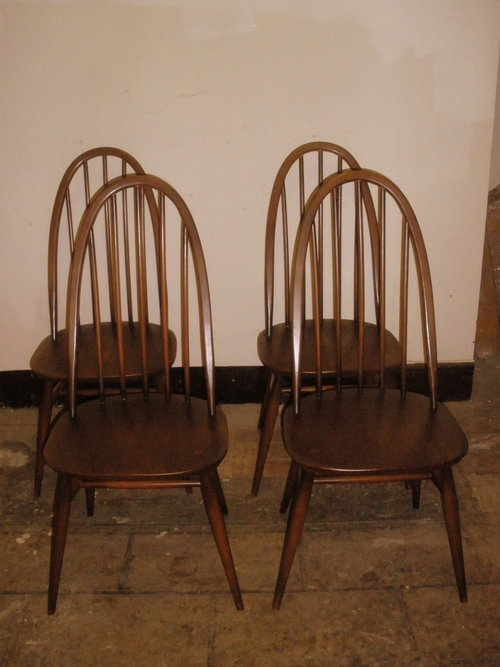 Antiques Atlas 1960 S Ercol Set Of Quaker Design Dining