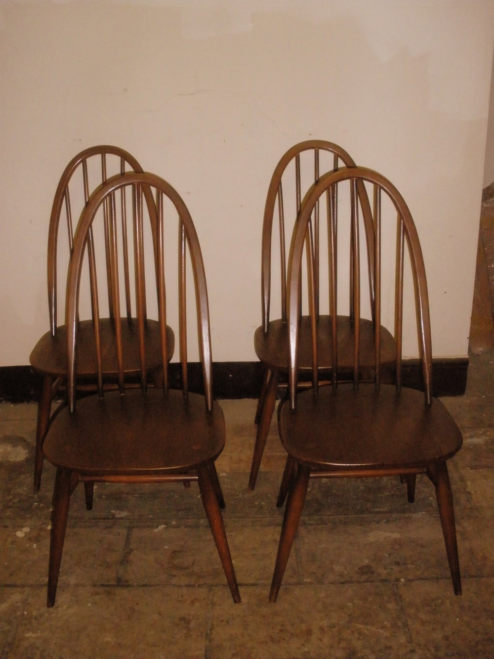 Antiques Atlas - 1960's ERCOL Set Of QUAKER Design Dining ...