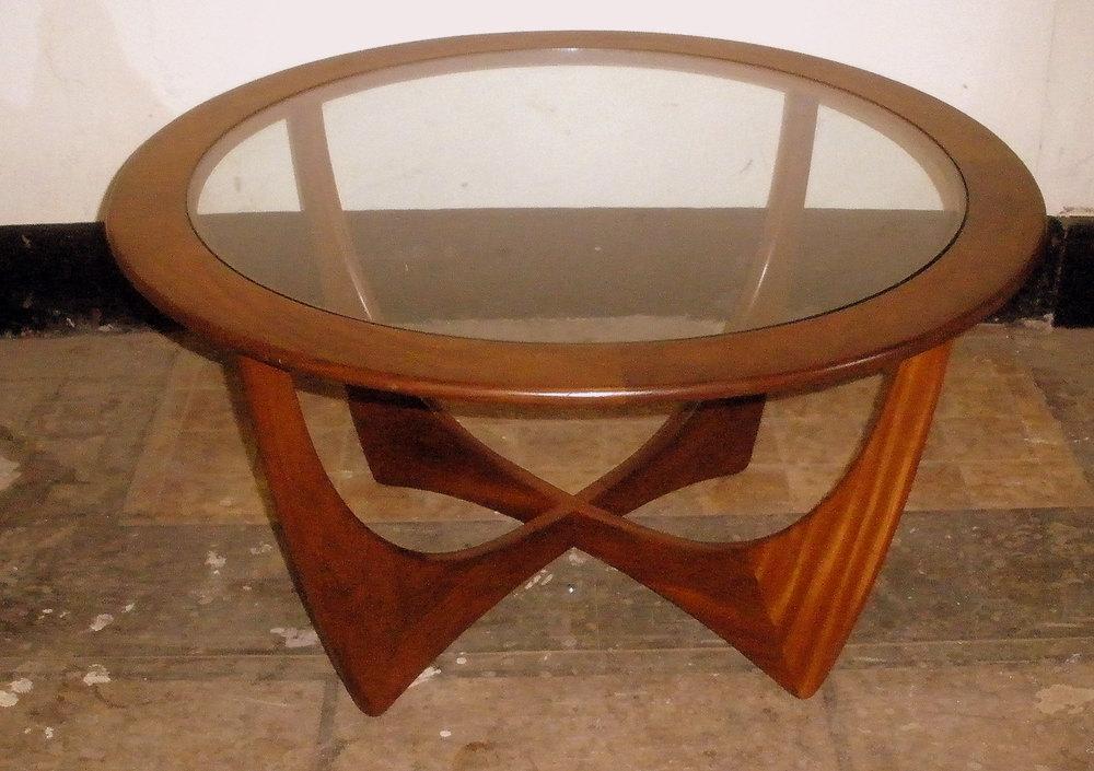 G Plan 1960s Astro Design Circular Coffee Table