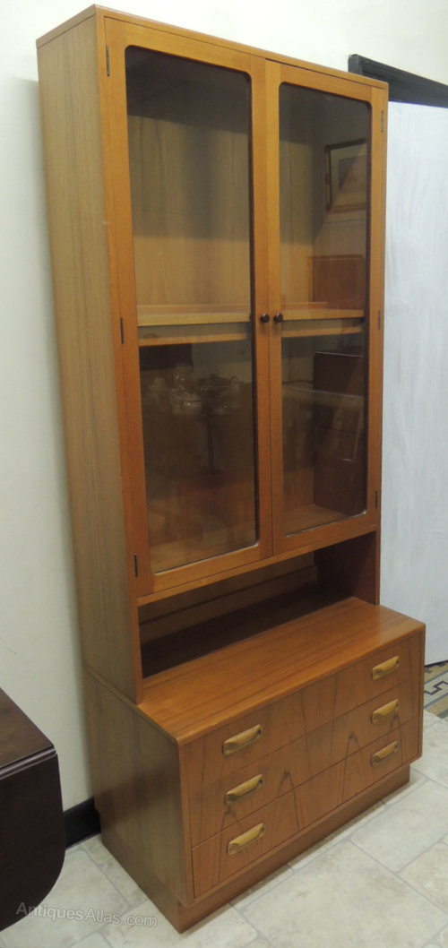 Antiques Atlas - G-Plan Display Cabinet~Bookcase