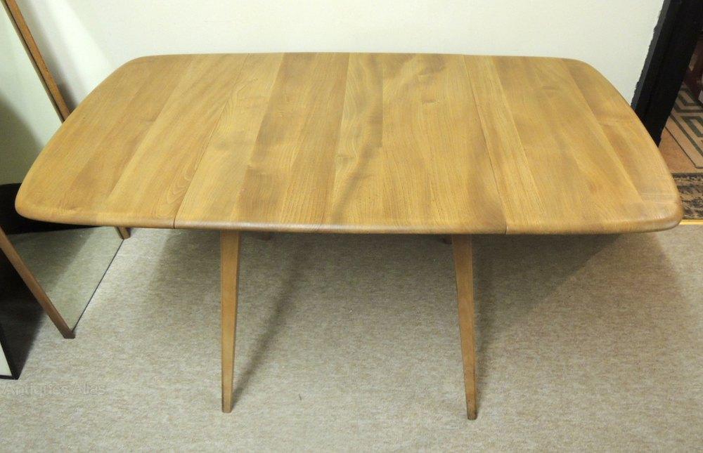 Retro Ercol Drop Leaf Table
