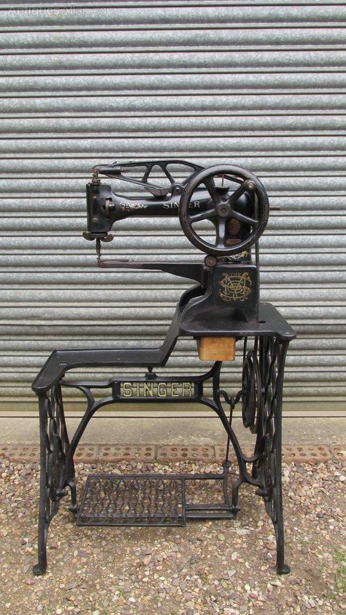 Antiques Atlas Industrial Singer Sewing Machine On Stand New Atlas Industrial Sewing Machines