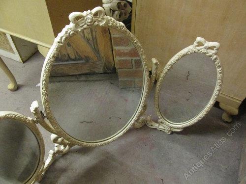 Antiques Atlas Vintage Carved Dressing Table Mirror