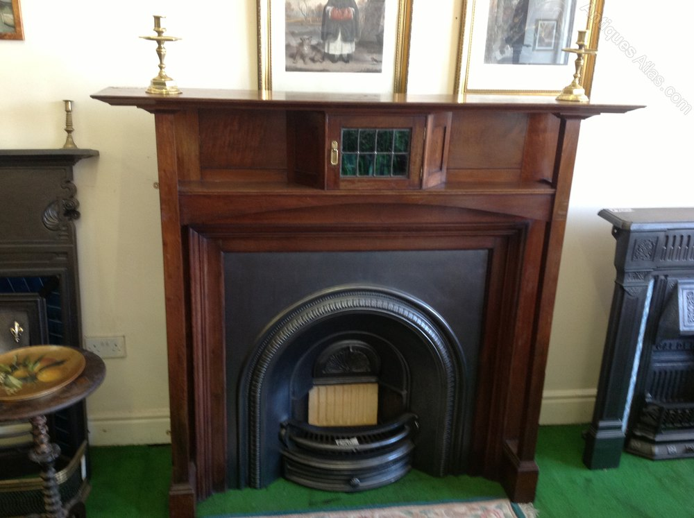 Antiques Atlas Arts And Crafts Period Fire Surround