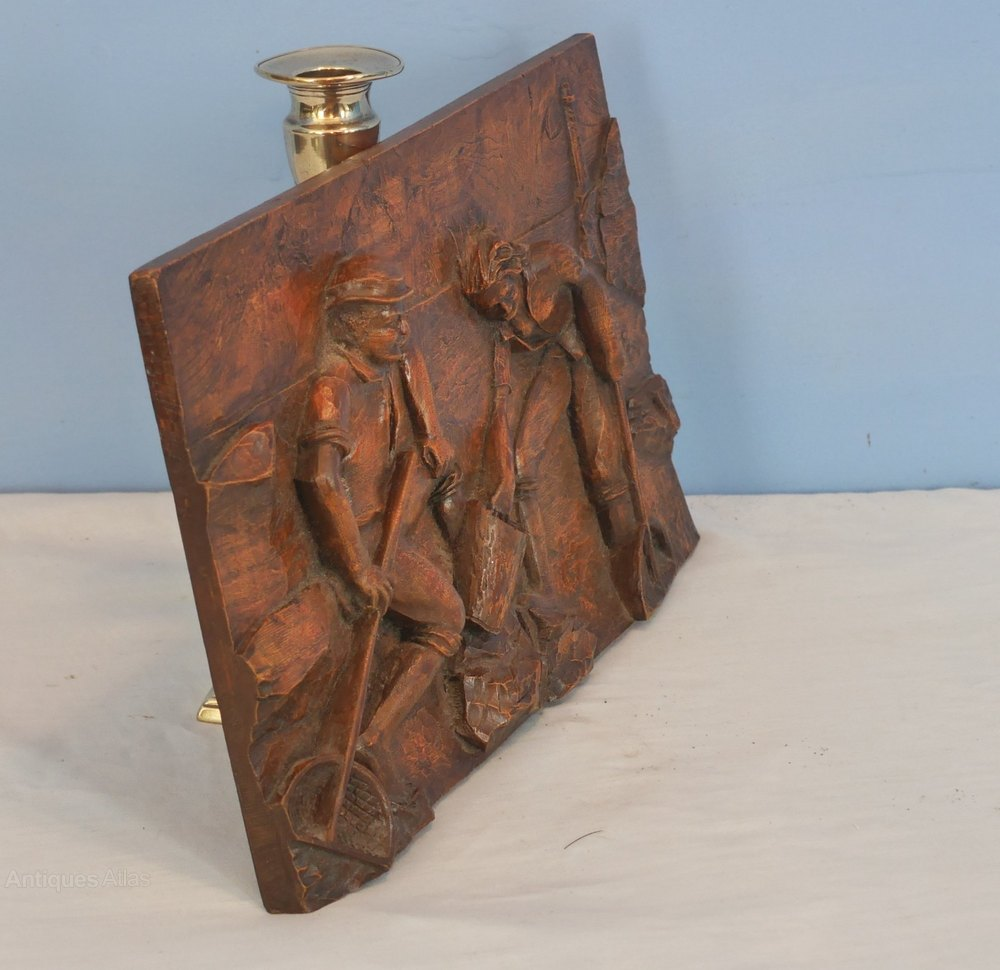 Antiques atlas wood carving marine shrimpers
