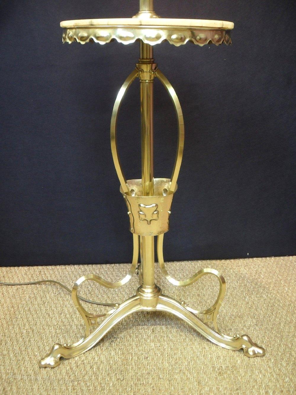 Antiques Atlas Art Nouveau Floor Lamp