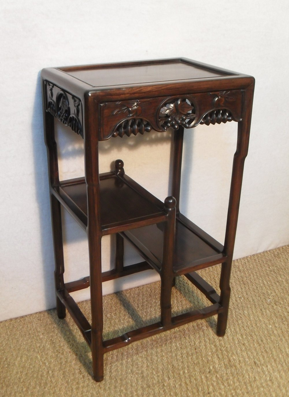Exhibition Stand Vintage : Chinese rosewood display stand antiques atlas