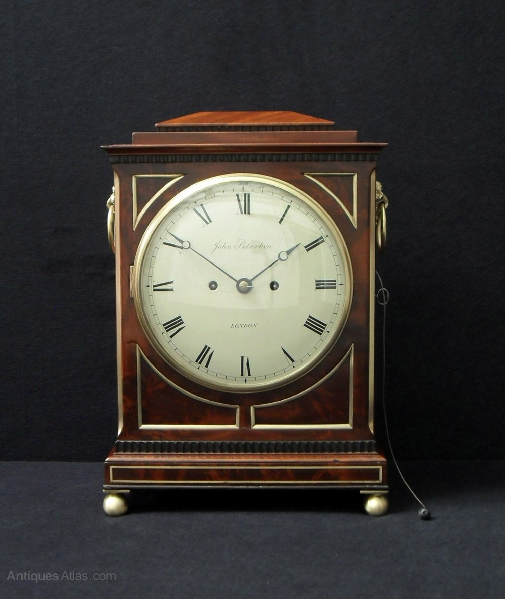 Antiques Atlas English Bracket Clock