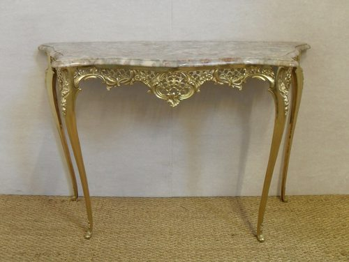 Superbe French Console Table