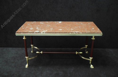 Antiques Atlas French Mid Century Coffee Table By Maison