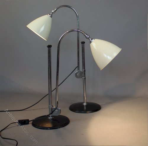 1940 S Adjule Lamps By Bestlite