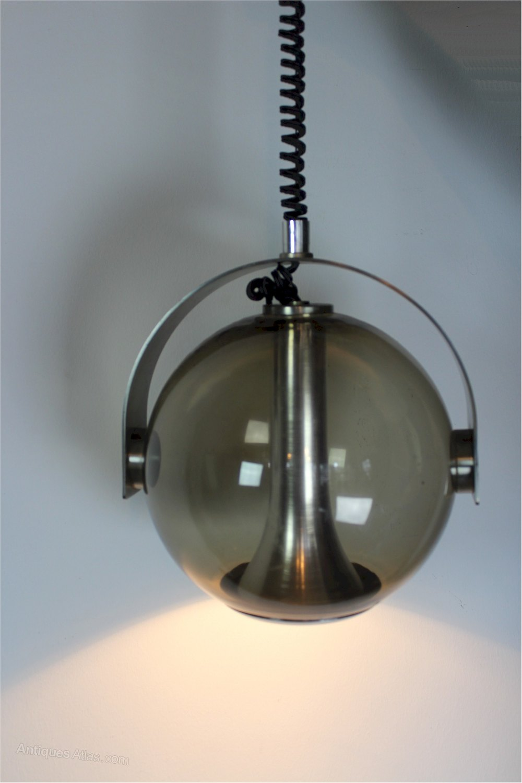 Antiques Atlas - 1970\'s Italian Hanging Globe Light Brevettato Roll