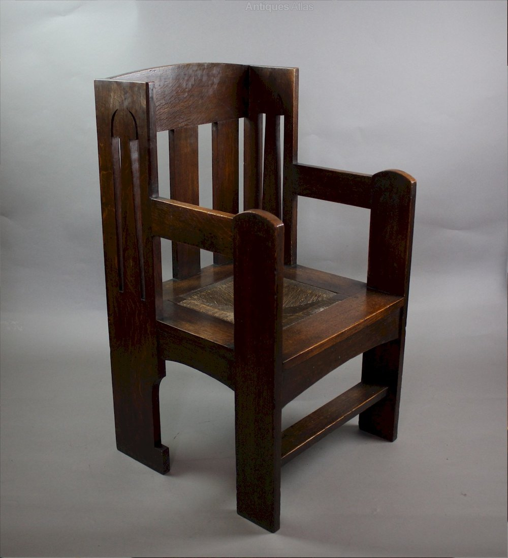 Arts And Crafts Ethelbert Chair By Liberty Co Antiques Atlas