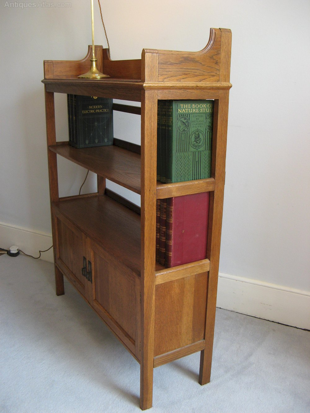 Arts And Crafts Bookshelf By Harris Lebus