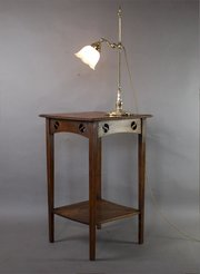 Antique lamp tables antiques atlas arts and crafts lamp table wit mozeypictures Images
