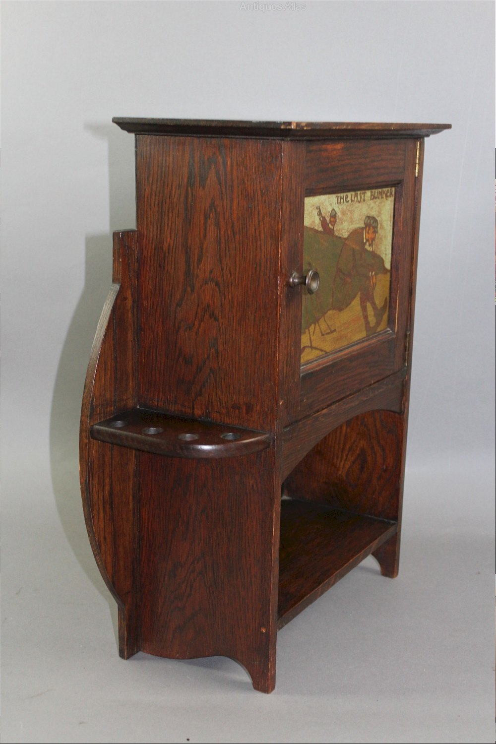 Arts And Crafts Oak Smokers Cabinet By Liberty Amp C