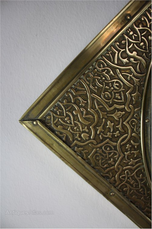 Cm Square Glass Brass Frame