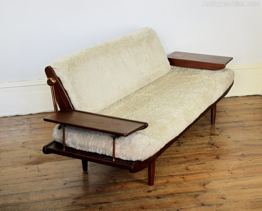 Danish Style Mid Century Sofabed By Toothill ...