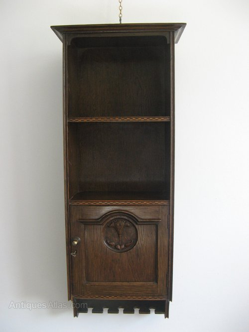 Harris Lebus Arts and Crafts hall cabinet Antique ... - Harris Lebus Arts And Crafts Hall Cabinet - Antiques Atlas