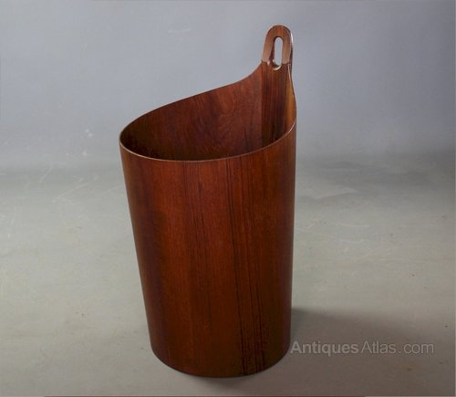 Mid Century Waste Paper Bin By P S Heggen Norway