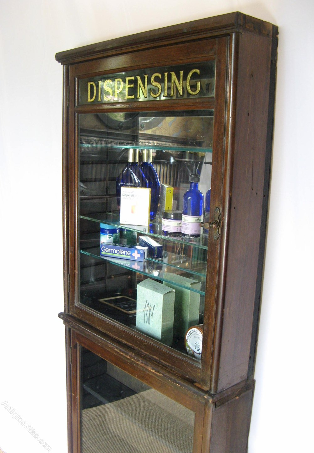 Old Chemists Dispensing Cabinet Antique Display Cabinets