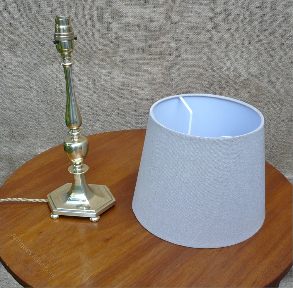 Quality Table Lamps: Quality Table Lamp In Brass