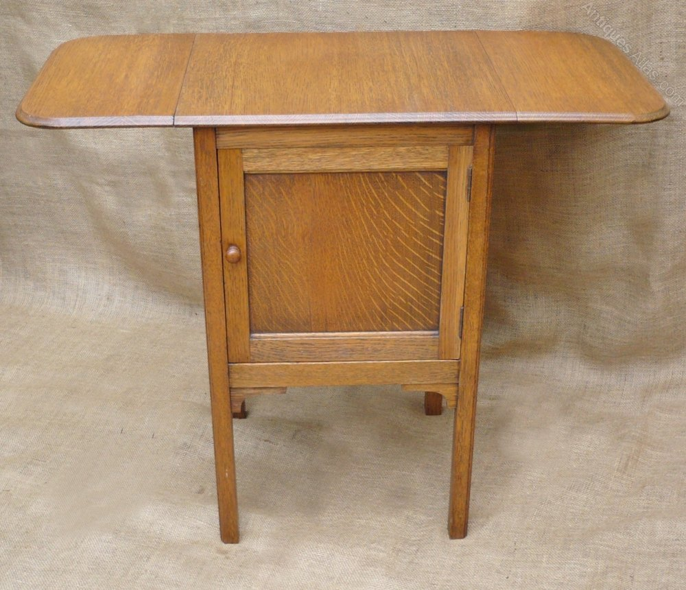 ... Heals antique bedside cabinets ... - Unusual Bedside Cabinet With Extending Top - Antiques Atlas