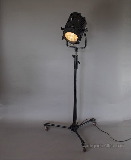 Vintage Theatre Lamp Hewitt Universal Stage Lights