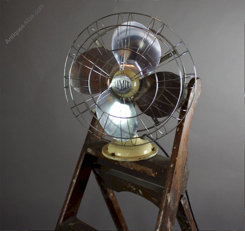 Vintage Limit Veritys Electric Desk Fan