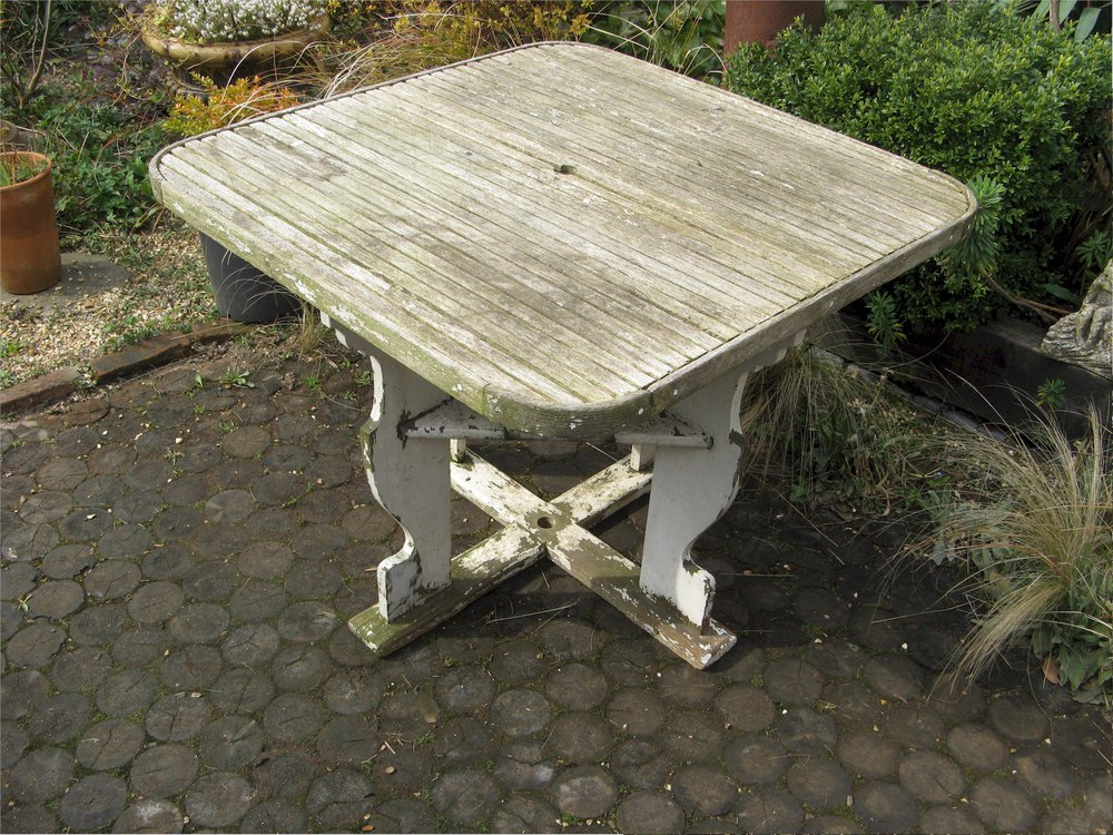 Antiques Atlas Vintage Teak Garden Table By Castle S